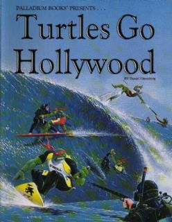 Turtles go Hollywood: A TMNT Campaign